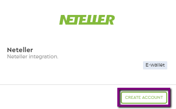neteller create account