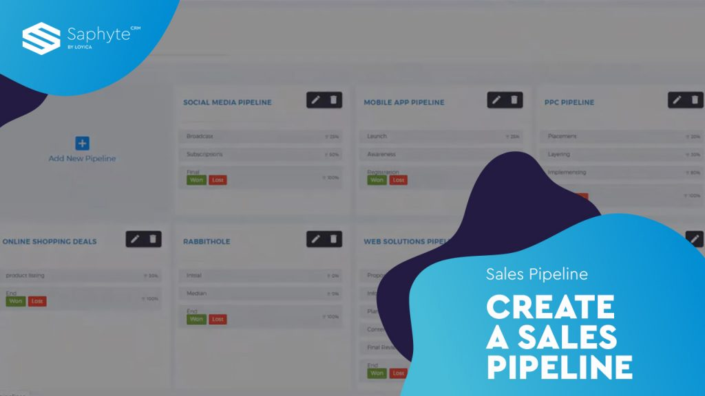 Create A Sales Pipeline