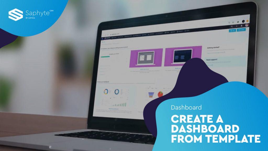 Dashboard - Create A Dashboard From Template