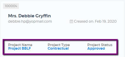 Saphyte - Client Section Labels